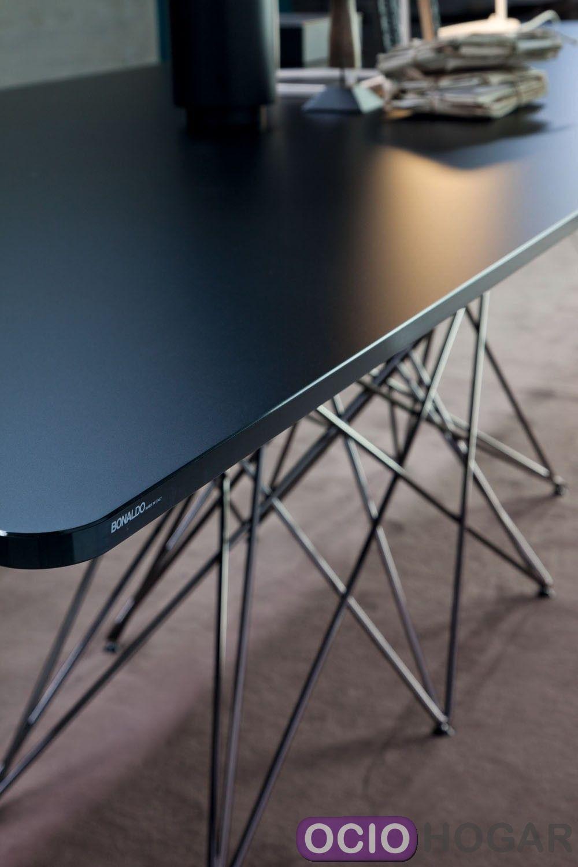 Mesa de diseo Octa de Bonaldo Mesas modernas en