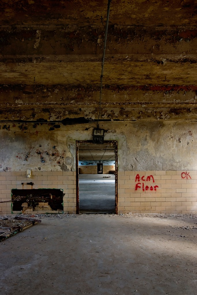 Sequential  Photo of the Abandoned Ypsilanti State Hospital