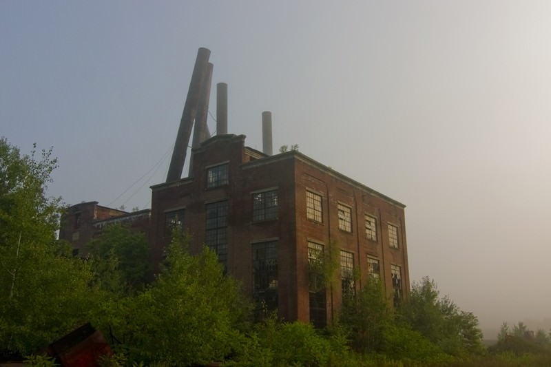 Coal Brook Breaker Power Station An Abandoned Power Plant