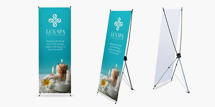 x stand banners