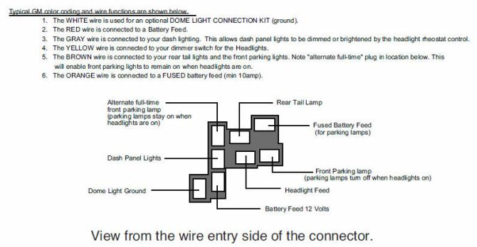 1969 chevy headlight switch wiring  wiring diagrams page