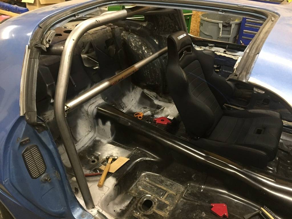 Roll Cage Door Bar Compromise