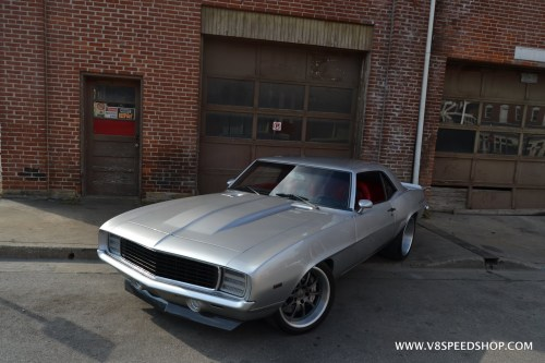 small resolution of 1969 camaro transforms from big block to supercharged lt4 v8 at v8 speed resto shop