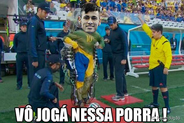 Neymar vai jogar a semifinal?