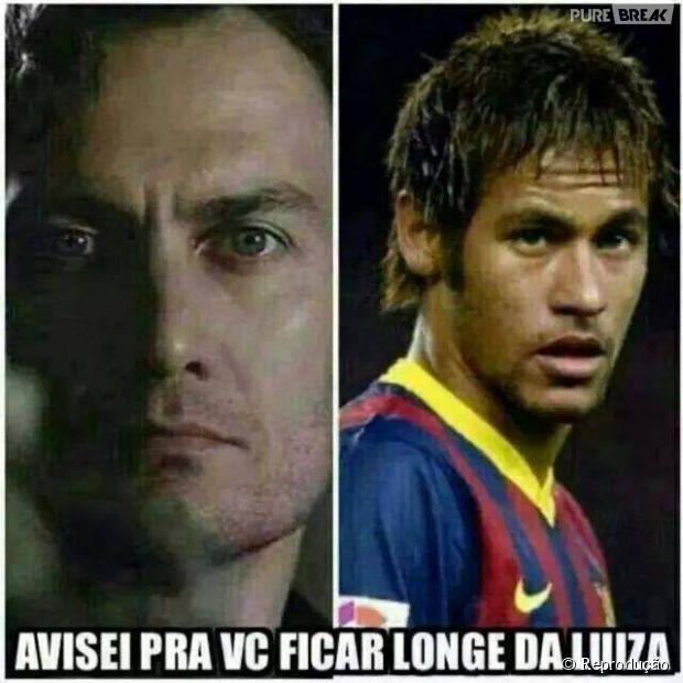 Cuidado, Neymar! Laerte ta de olho!