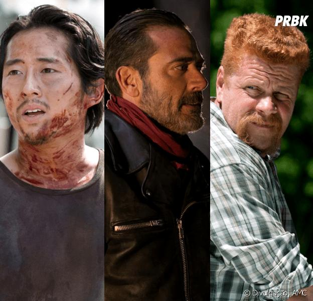 "Em ""The Walking Dead"": na 7ª temporada, Negan mata Glenn e Abraham ..."