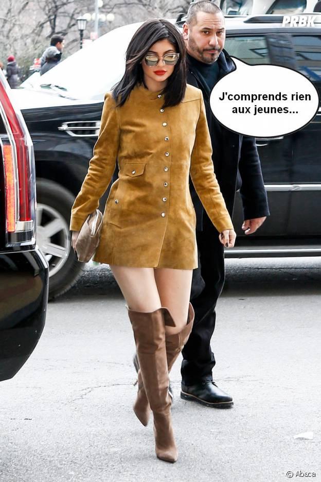 Kylie Jenner Oublie Son Pantalon Et Dvoile Sa Culotte