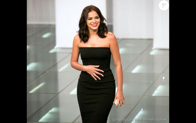 Bruna Marquezine adora peças que evidenciem as curvas, como o vestido usado  na gravação do 'Amor & Sexo' - Purepeople