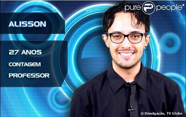 Alisson Gomes é o participante do BBB 14