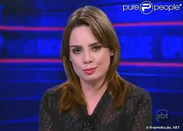 Rachel Sheherazade foi denunciada ao Ministério Público Federal por apologia ao crime (12 de março de 2014)