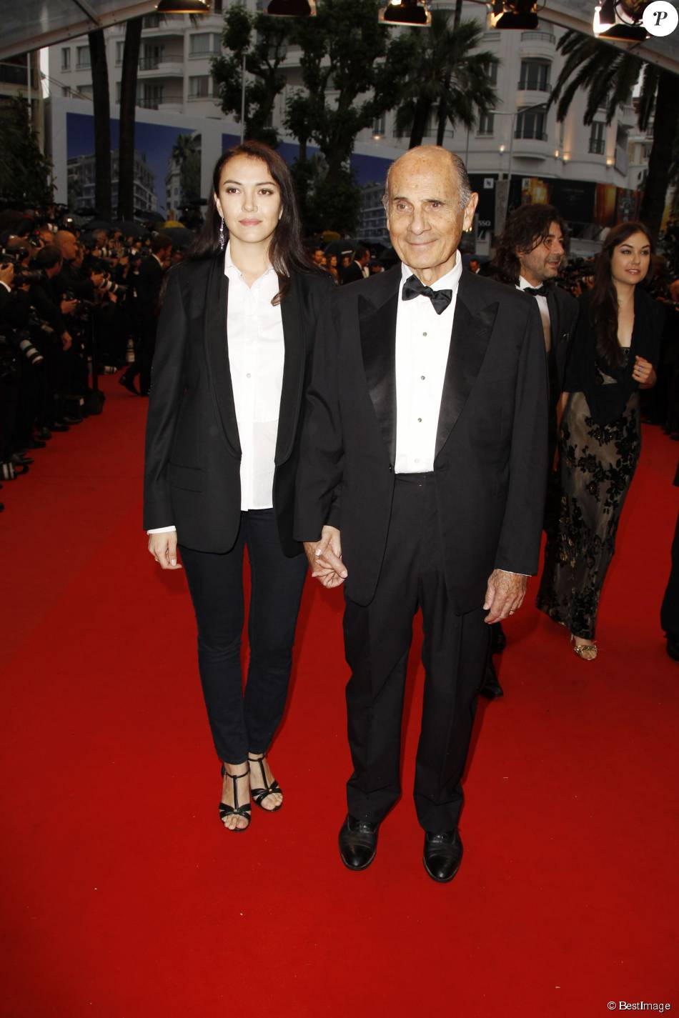 Guy Marchand Et Sa Femme : marchand, femme, Marchand, Femme, Adelina, Festival, Cannes, 2012., Purepeople