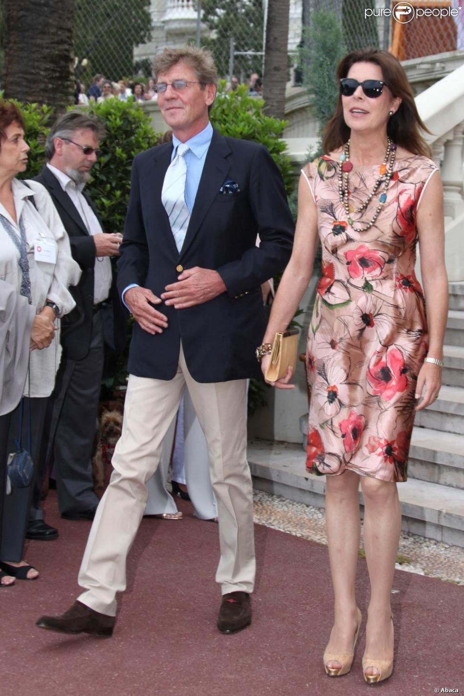 Caroline Grimaldi et son poux Ernst August de Hanovre de