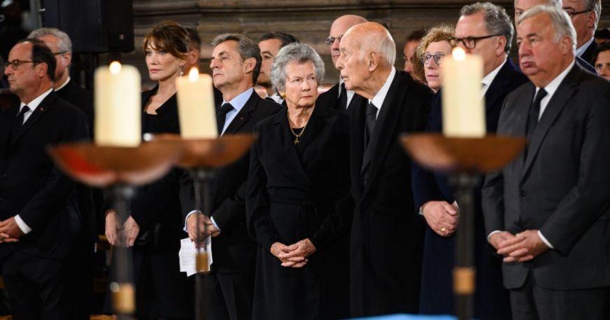 François Hollande, Carla Bruni-Sarkozy, Nicolas Sarkozy ...