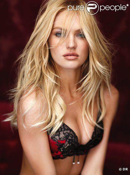 Candice Swanepoel pour incarner la collection Very Sexy Seduction de Victoria's Secret