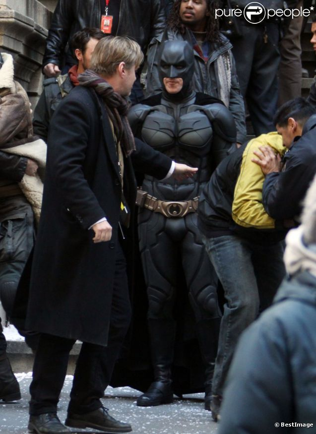 Equipe Batman Dark Knight Rises Tournage