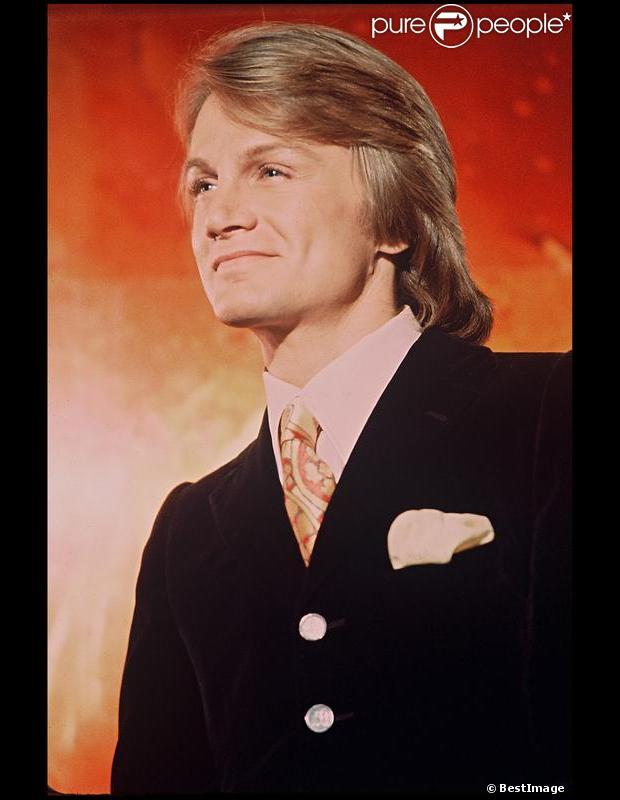Le chanteur Claude François