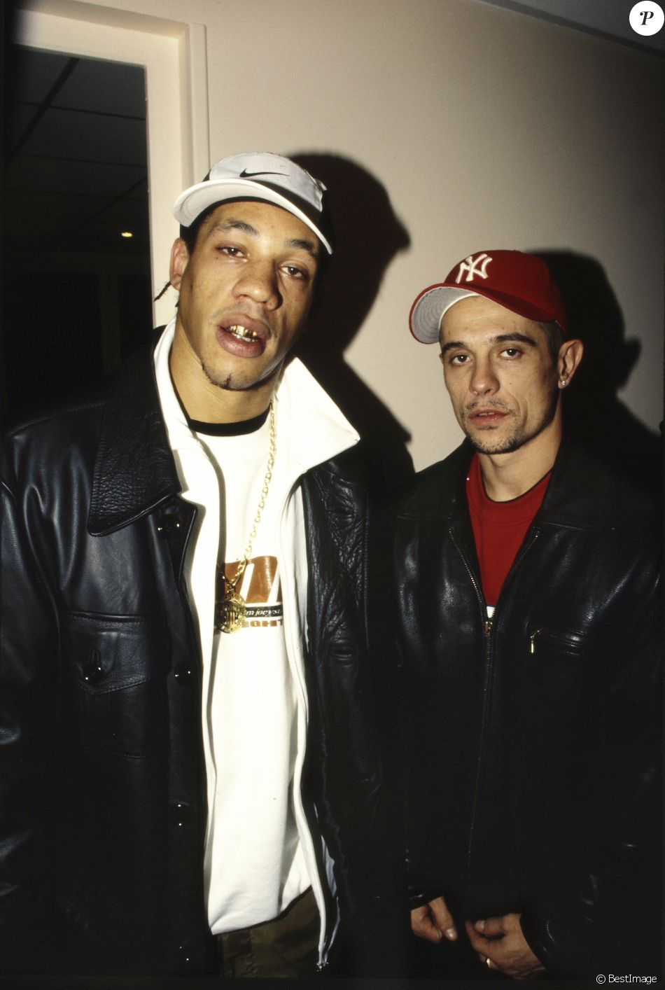 Kool Shen Et Joey Starr : starr, JoeyStarr, Paris, Décembre, 1998., Purepeople