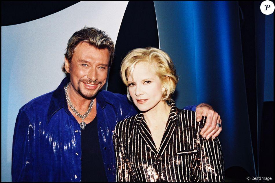 Johnny Hallyday et Sylvie Vartan en 1998