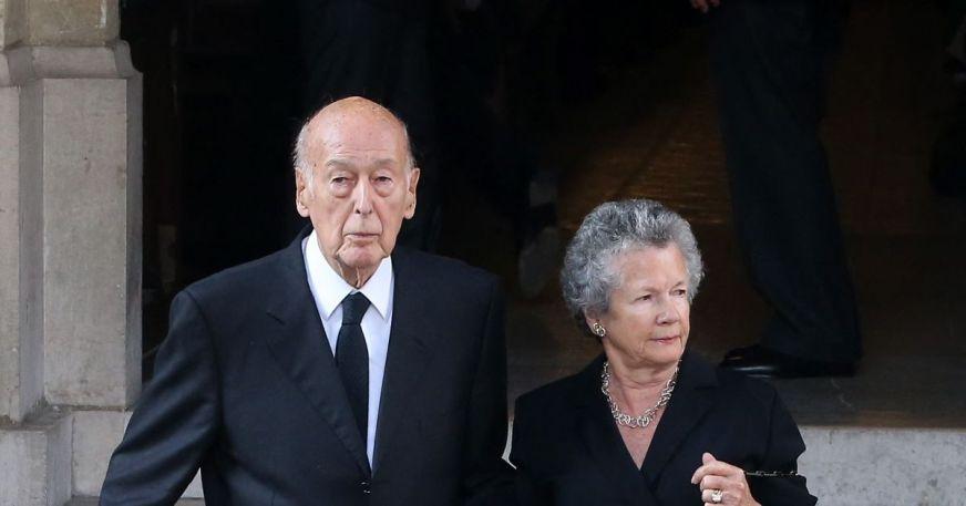 Valéry Giscard d'Estaing et sa femme Anne-Aymone - Purepeople