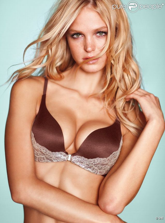 Erin Heatherton pour Victoria's Secret.