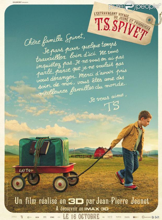 L'extravagant voyage du Jeune et Prodigieux T.S. Spivet - Affiche