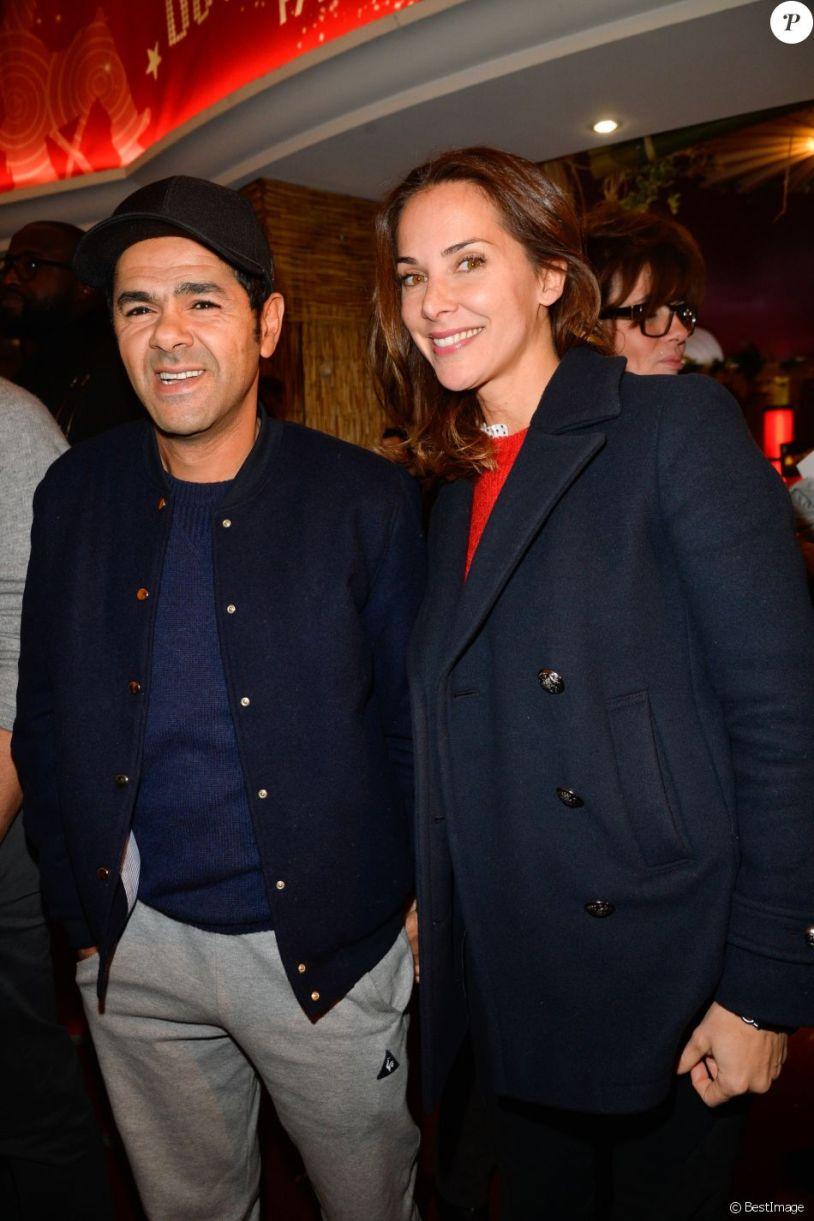 """Jamel Debbouze et sa femme Mélissa Theuriau - Avant première du film """"Demain tout commence"""" au Grand Rex à Paris le 28 novembre 2016. © Coadic Guirec/Bestimage"""