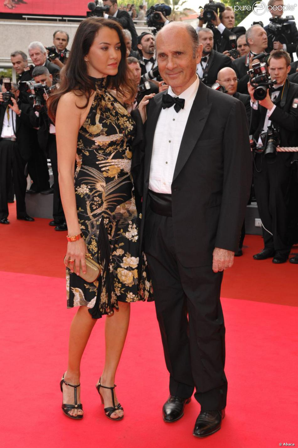 Guy Marchand Et Sa Femme : marchand, femme, Marchand, Femme, Adelina,, Festival, Cannes,, 2008., Purepeople