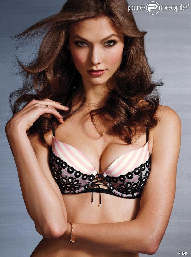 La sculpturale Karlie Kloss pour la nouvelle collection de lingerie Victoria's Secret, été 2013.
