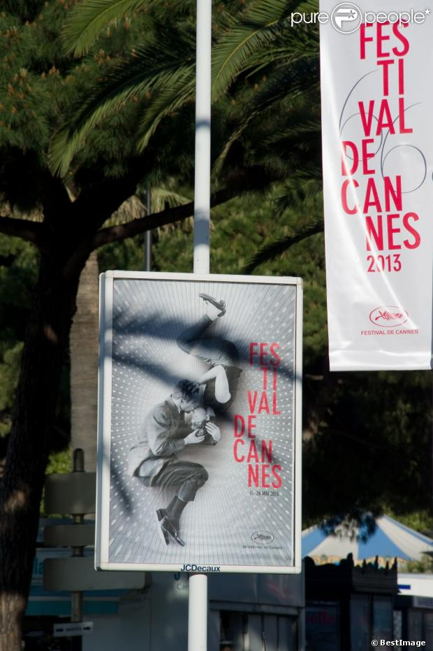 La Croisette s'habille pour Cannes 2013.