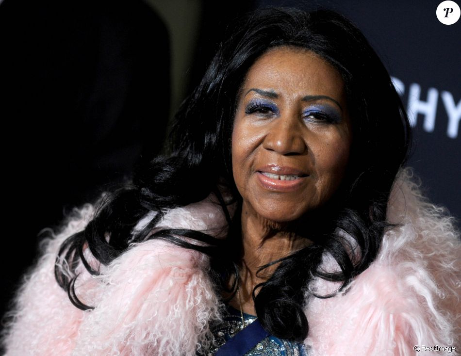 "Aretha Franklin lors du ""The Black Ball"" à New York, le 30 octobre 2014.  Celebrities attend The Black Ball in New York, on October 30, 2014.30/10/2014 - New York"