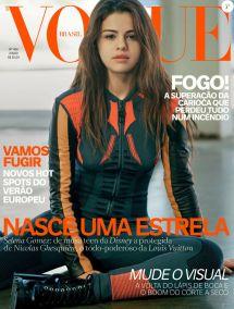 Selena Gomez En Couverture Du Magazine Vogue Brasil