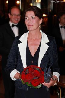 La Princesse Caroline De Monaco Le 29 Avril 2010