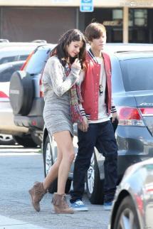 Selena Gomez Son Petit Ami Justin Bieber Los Angeles