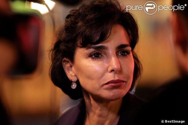 Rachida Dati à Paris le 17 octobre 2013.