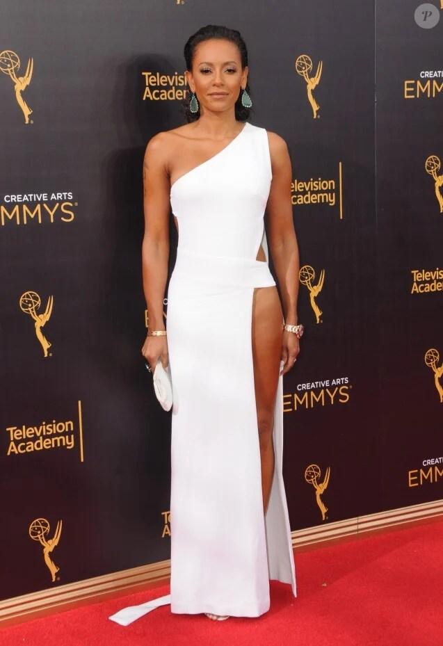 Melanie Brown (Mel B) à la soirée Creative Arts Emmy Awards à Los Angeles, le 10 septembre 2016 © Birdie Thompson/AdMedia via Zuma/Bestimage