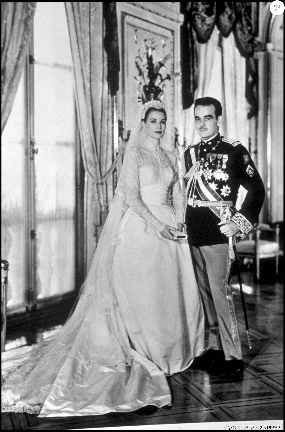 Grace Kelly Date Et Lieu De Décès : grace, kelly, décès, Mariage, Grace, Kelly, Prince, Rainier, Monaco,, Avril, 1956., Purepeople