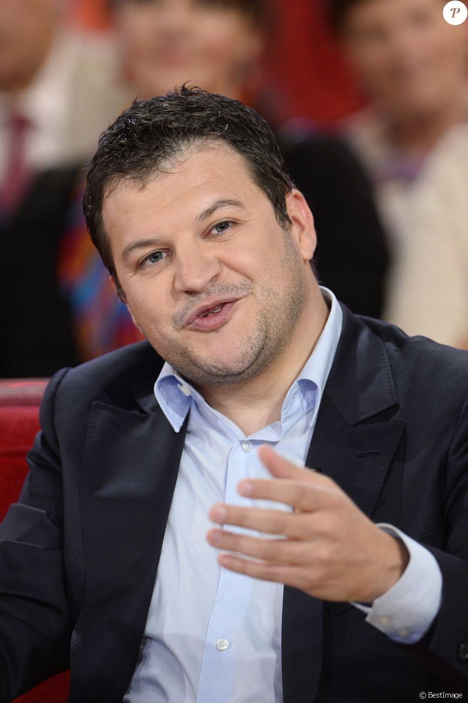 Guillaume Musso - Enregistrement de l'émission Vivement Dimanche en mai 2015. - Purepeople