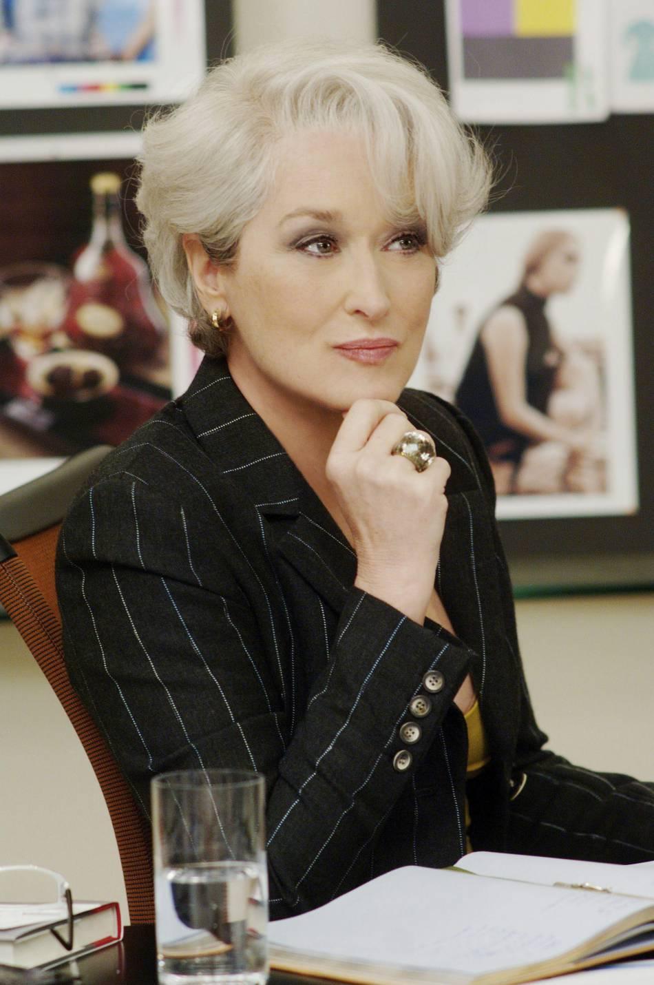 Le Diable S'habille En Prada 2 : diable, s'habille, prada, Meryl, Streep, Porte, Bijoux, Swarovski, Diable, S'habille, Prada, Puretrend