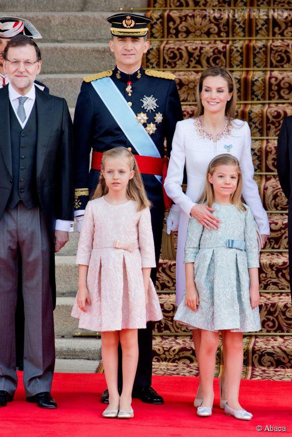 Roi Et Reine D Espagne : reine, espagne, Felipe, Nouveau, D'Espagne,, Femme, Reine, Letizia, Leurs, Princesses, Sofia, Leonor, Jeudi, Puretrend