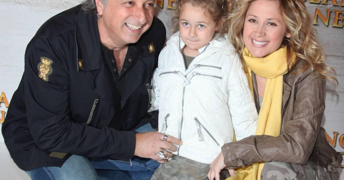 Lara Fabian et Grard Pullicino avec leur fille Lou  Puretrend