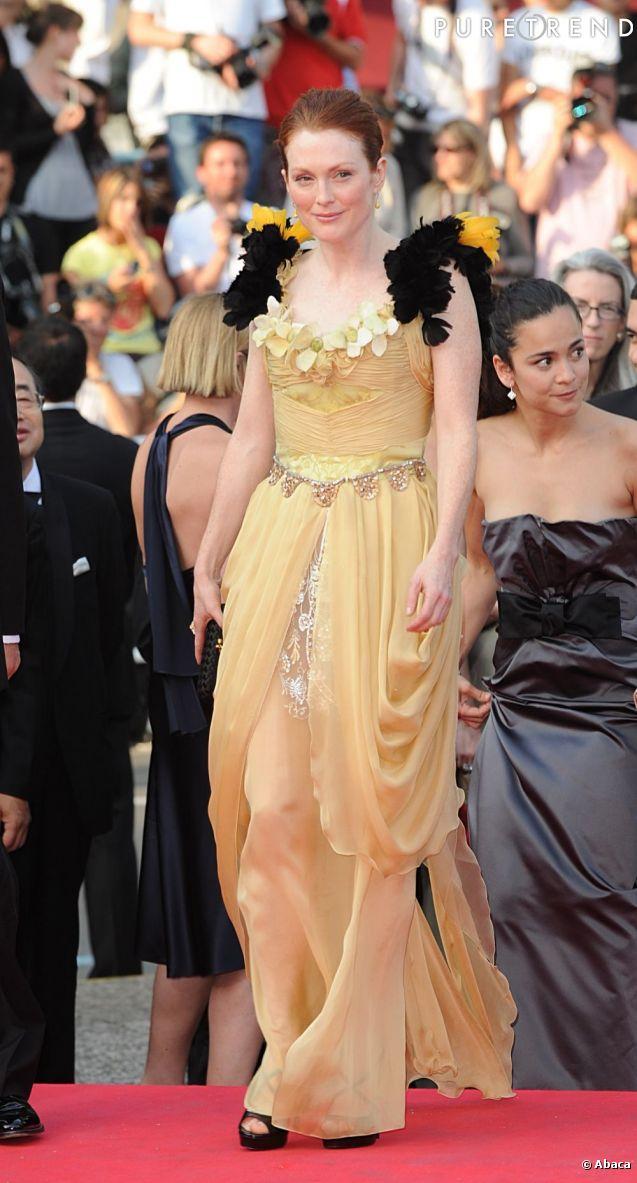 Julianne Moore en 2008 lors de la cérémonie d'ouverture.