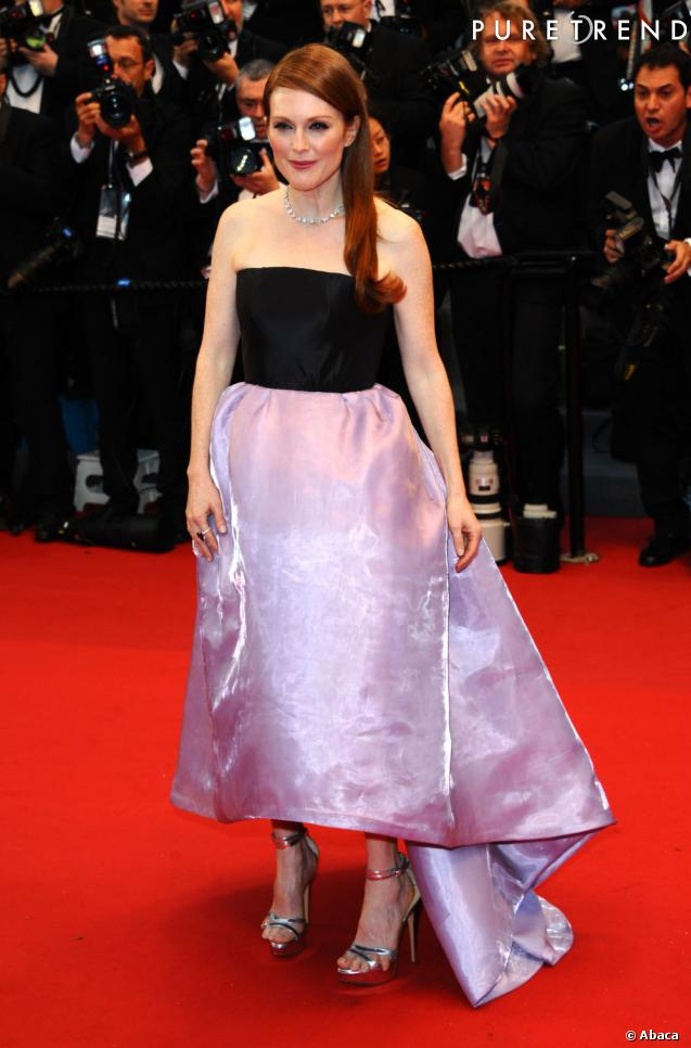 Julianne Moore en 2013, une femme ultra glamour et très mode.