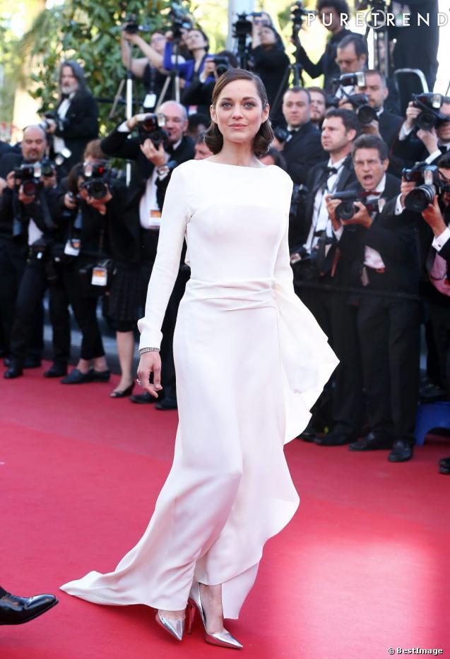 """Marion Cotillard à la première de """"The Immigrant"""" lors du 66ème Festival de Cannes."""