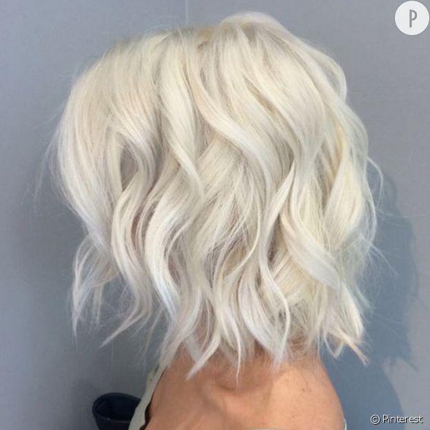 """Résultat de recherche d'images pour """"blond polaire cheveux courts"""""""