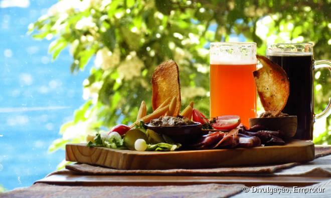 A gastronomia da cidade de Bariloche é variada e rica em sabores