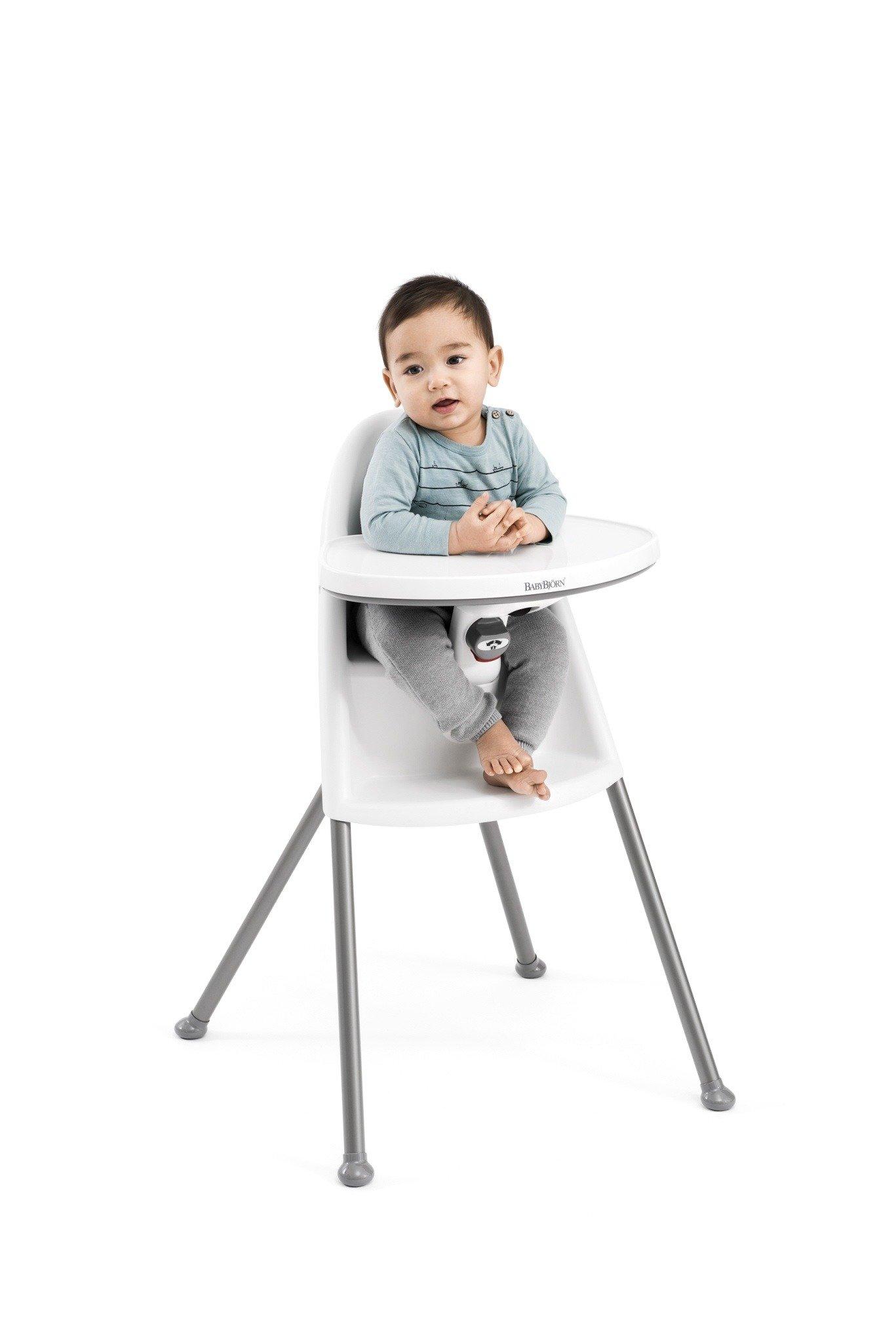 BABYBJORN High Chair  krzeseko do karmienia biae