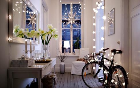 Mit Lichterketten dekorieren  SCHNER WOHNEN