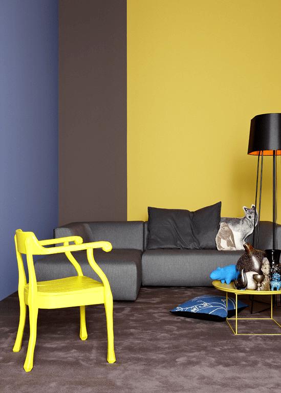 Farbenmix Trendkombinationen bei Wandfarben  SCHNER WOHNEN
