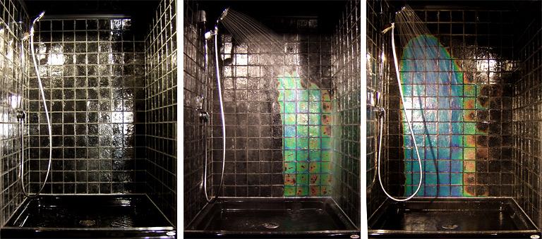 Bodenbelag Temperaturempfindliche Glasfliesen Northern