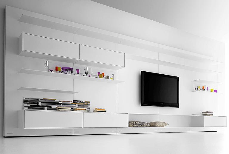 fernseher verstecken ideen flachbildfernseher an die. Black Bedroom Furniture Sets. Home Design Ideas